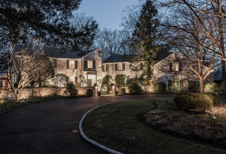 הבית של פול סיימון בניו כנען קונטיקט