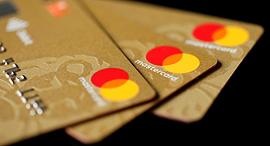 כרטיס אשראי של מאסטרקארד, צילום: רויטרס