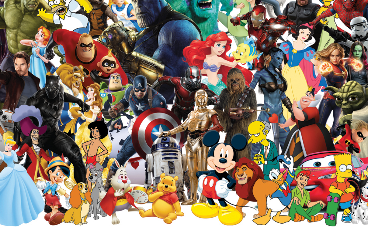 הדמויות האהובות של דיסני