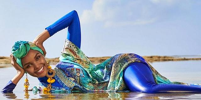 עשתה היסטוריה: דוגמנית בבורקיני מככבת בגיליון בגדי הים ספורטס אילוסטרייטד