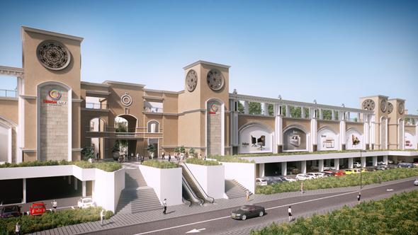 """פרויקט דיזיין סיטי. למעלה מ-15 אלף מ""""ר כבר הושכרו, הדמיה:3DVISION , באדיבות דיזיין סיטי"""