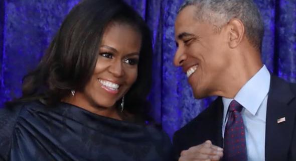 ברק ומישל אובמה, צילום: רויטרס