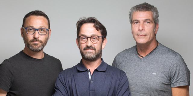 מימין: אלדד רוטמן, דניאל רוטמן ורועי אמבר, מייסדי GlassesUSA, צילום: יחצ