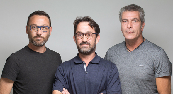 GlassesUSA co-founders (from left) Eldad Rothman, Daniel Rothman, and Roy Yamner. Photo: PR