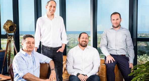 AMoon partners Devash (left) , Sone, Schindel, and Berkovitz. Photo: PR