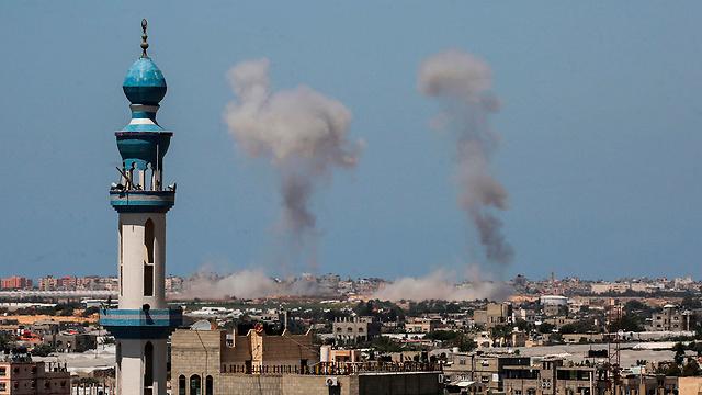 תקיפות חיל האוויר בעזה, צילום: איי אף פי