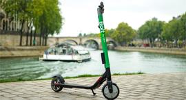 קורקינט חשמלי שיתופי פריז , צילום: Taxify