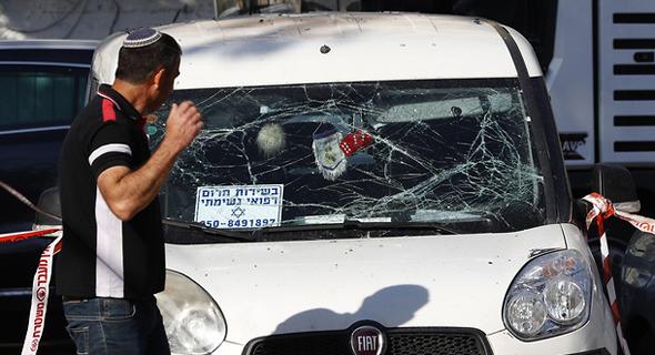 ירי רקטות על אשקלון חמאס עזה, צילום: AFP