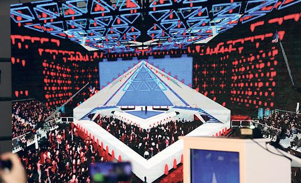 אולם האירוויזיון בגני התערוכה, צילום: אורן אהרוני