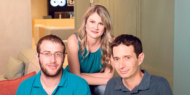 """מימין: אמיר זילברשטיין, גלינה אנטובה ובני פורת , צילום: יח""""צ"""