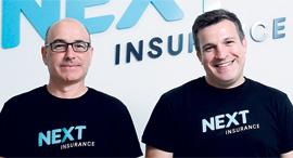 פרויקט הסטארטאפים 2019 Next Insurance אלון חורי ו נסים טפירו, צילום: עמית שעל