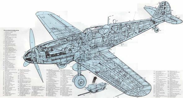מטוס המסרשמיט 109, צילום: conceptbunny
