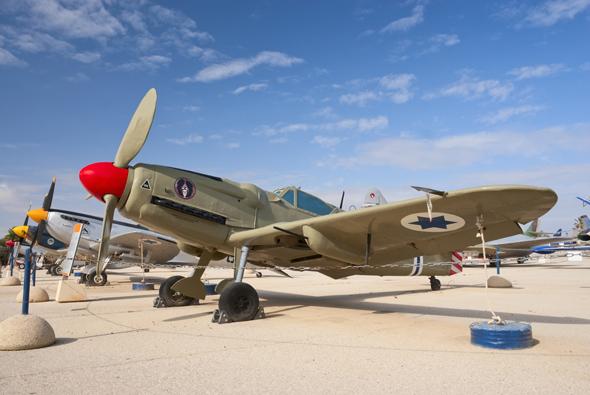 מטוס סכין במוזיאון חיל האוויר, צילום: שאטרסטוק