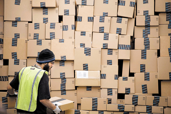 Amazon. Photo: Bloomberg