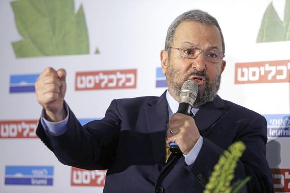 Ehud Barak. Photo: Amit Sha'al