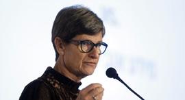 """כנס קנאביס ד""""ר אורנה דריזין מייסדת ויו""""ר נקסטייג', צילום: עמית שעל"""
