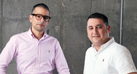 Elementor co-founders Yoni Luksenberg and Ariel Kl