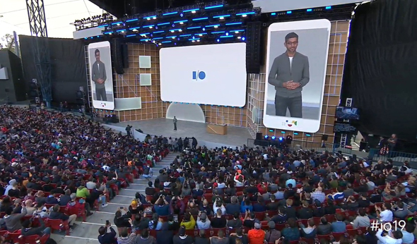 Google's I/O Conference. Photo: Google