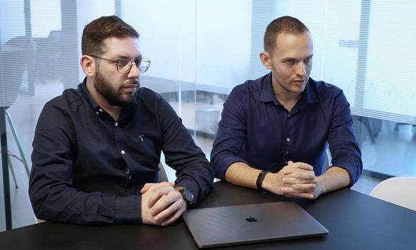 בני יונוביץ' ואוראל יוסף, מייסדי Arbitrip