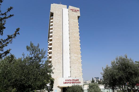 מלון לאונרדו פלאזה ירושלים רשת פתאל, צילום: עמית שאבי