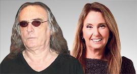 מימין שרי אריסון ו צביקה פיק, צילום: יריב כץ