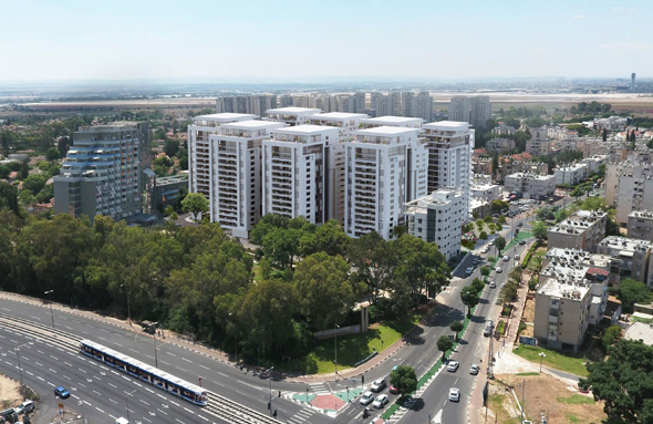 הדמיית הפרויקט באור יהודה, קרדיט: צפור אדריכלים ומתכנני ערים