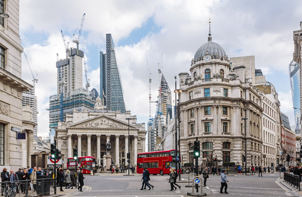 לונדון. בריטניה במקום ה-10 במדד , צילום: גטי אימג