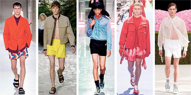 shock על ירך: מכנסוני הגברים מתעוררים לחיים