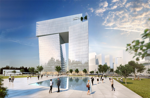 הדמיית מגדל ICON