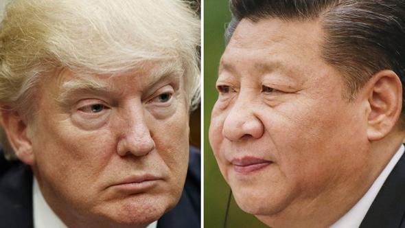טראמפ ושי, צילום: AP