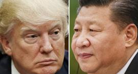 """נשיא ארה""""ב דונלד טראמפ נשיא סין שי ג'ינפינג מלחמת סחר, צילום: AP"""