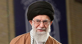 המנהיג העליון של אירן עלי ח'מינאי, צילום: איי אף פי