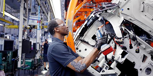 מפעל של BMW בדרום קרוליינה, צילום: בלומברג