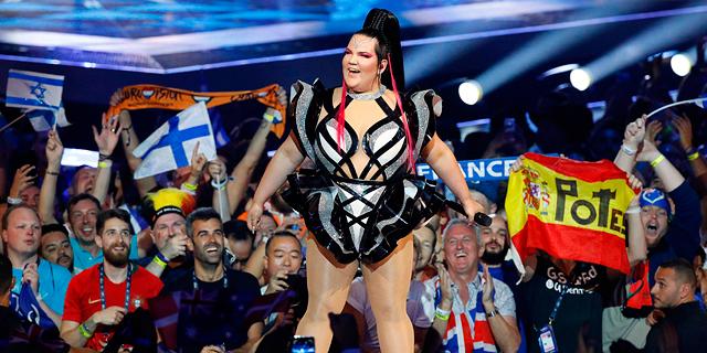 אירוויזיון 2019 נטע ברזילי, צילום: איי אף פי