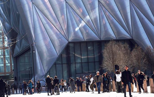 פרויקט הדסון יארדז במנהטן, צילום: איי אף פי