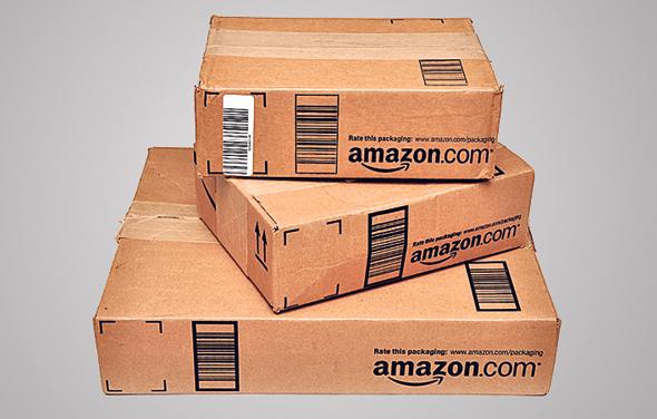 חבילות מאמזון, צילום: שאטרסטוק
