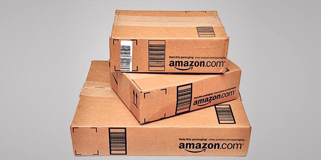 חבילות של אמזון, צילום: שאטרסטוק