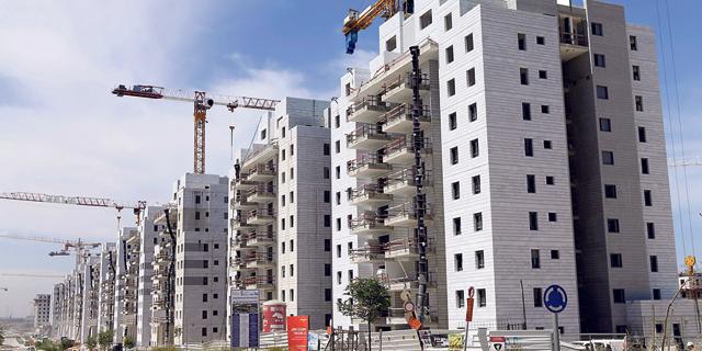 """פרויקט מחיר למשתכן ביבנה. """"לתוכנית לא תהיה השפעה על מחירי הדיור בעתיד"""", צילום: עמית שעל"""