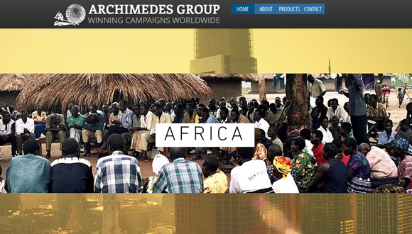 Archimedes Group website