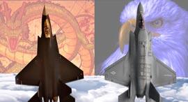 F35 נגד J31, צילום: Aviation Analysis Wing
