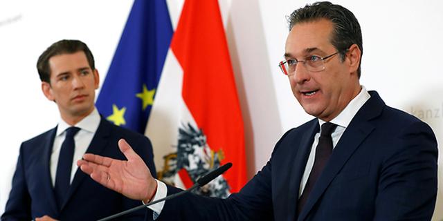 """ממשלת אוסטריה קורסת: השוחד """"הרוסי"""" למנהיג הימין הקיצוני"""