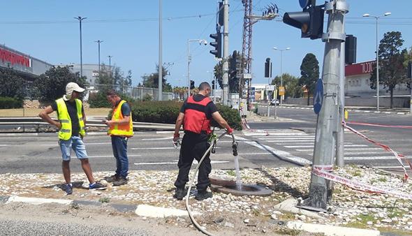איזור דליפת הגז בחיפה, אתמול