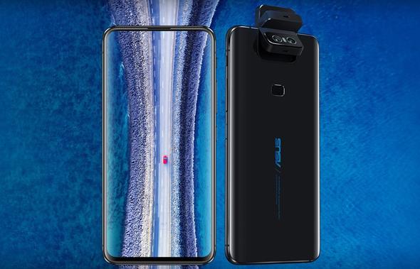 המצלמה המתהפכת של הטלפון, צילום: מאתר Asus