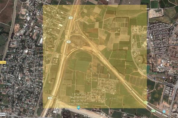 שטחים חקלאיים על גבול הרצליה-רעננה