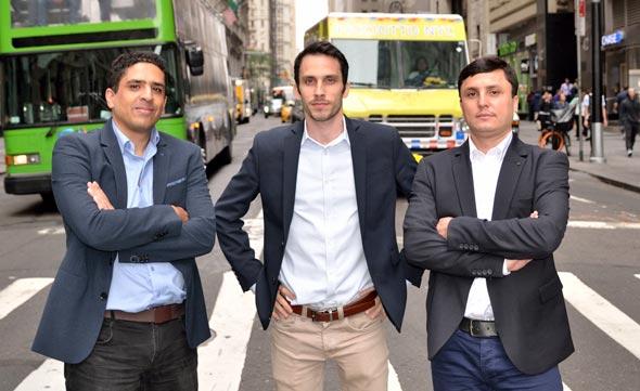 Siemplify founders Alon Cohen (left), Amos Stern, Garry Fatakhov. Photo: Siemplify