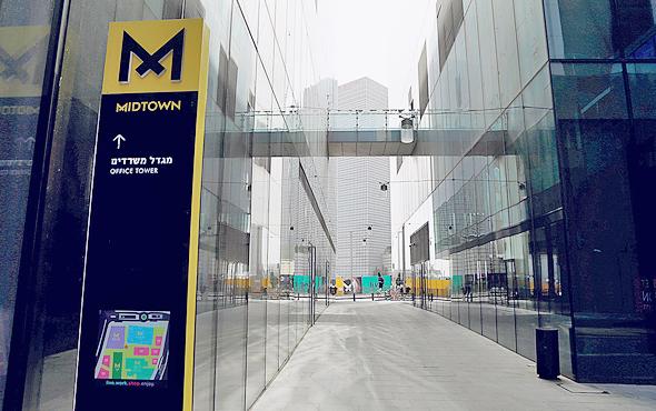 פרויקט מידטאון בתל אביב, שאת בנייתו ליווה משרד גרינברג אולפינר ושות'. תקן 21 הוא לא הכל