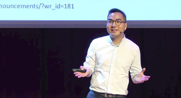 מייסד חברת רייט טריט, דיוויד יאונג. פוטנציאל גבוה, צילום: יוטיוב