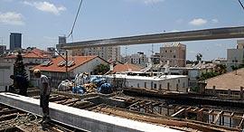 """יישום תמ""""א 38 ב רחוב רימון 8 רמת גן    שיפוץ  בניין, צילום: יובל חן"""