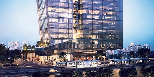 אלדר השקעות תקים במתחם NEXT בחולון בניין משרדים בן 22 קומות