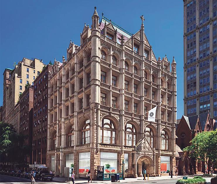 הבניין שסורוקין סיפרה שבכוונתה לקנות כדי להקים בו מרכז אמנות. ניסתה לקבל הלוואה של 25 מיליון דולר